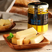 Aged Cheese in Black Truffle Oil