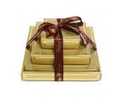 Chocolate Delights Gold Gift Tower