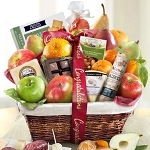 Congratulations Abundance Classic Fruit Basket